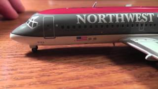 Gemini Jets 1:200 Northwest Airlines McDonnell Douglas DC-9-14 Unboxing/Review