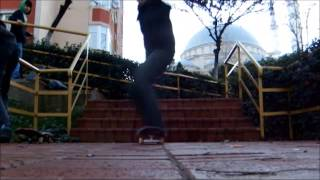 4 Basamak Kickflip (Oğuzhan Altıntaş)