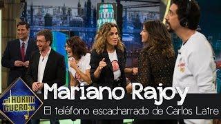 Carlos Latre, como Pedro Sánchez, enseña cómo imitar a Mariano Rajoy - El hormiguero 3.0