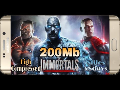 200Mb || WWE IMMORTAL High Compressed on Android || apk+data Unlimited money proof with Gameplay