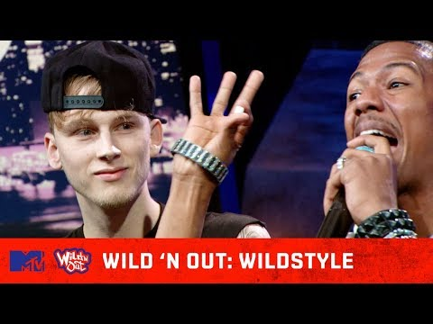 MGK Won't Lose To Nick Cannon Without A Fight 🔥 | Wild 'N Out | #Wildstyle