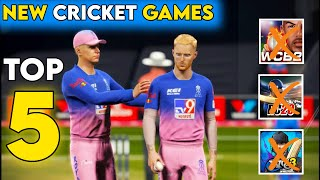 Top 5 Best Cricket Games For Android | 4K Graphics New Cricket Games screenshot 1