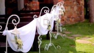 видео Оформление свадьбы в европейском стиле
