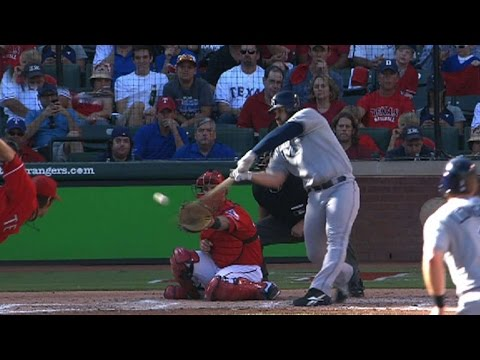 2011 ALDS Gm1: Shoppach homers twice, collects five RBIs