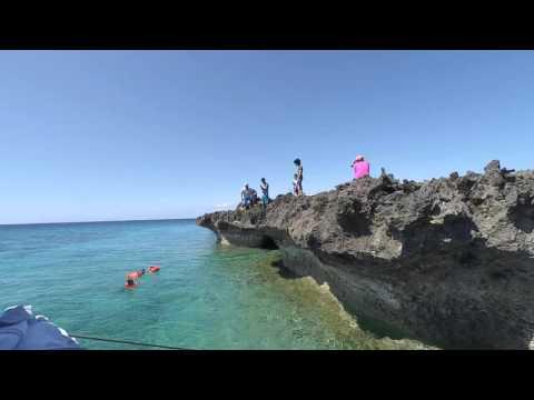Cliff Jumping Burias Island Philippines (Xiaomi Yi Cam)