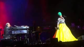 """Saturn"" Stevie Wonder & India Arie@Wells Fargo Center Philadelphia 11/16/14"