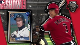 I Did It Again! Diamond Alan Trammell Debut! MLB The Show 19 Gameplay