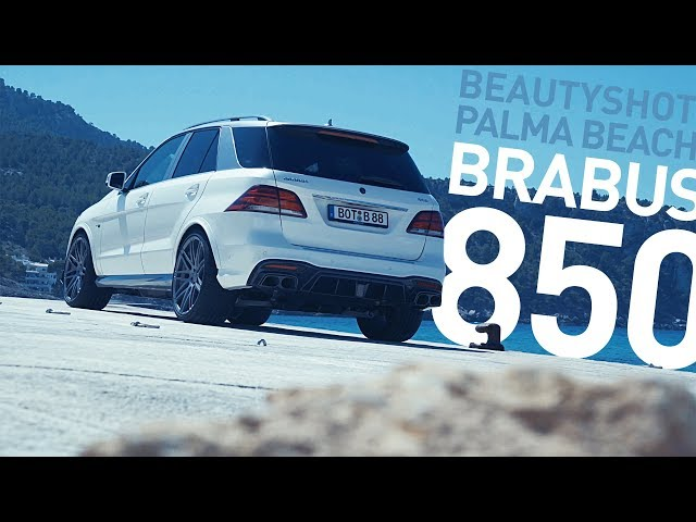 Brabus 850 Based On Gle 63 S At Palma Beach Beautyshot