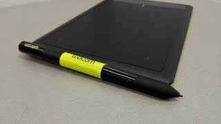 UNBOXING - REVIEW DRAWING PAD - Creative Pen Tablet One by Wacom CTL-672