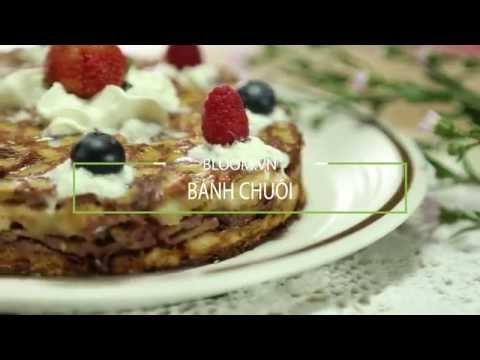 BANANA CAKE (BÁNH CHUỐI NƯỚNG)