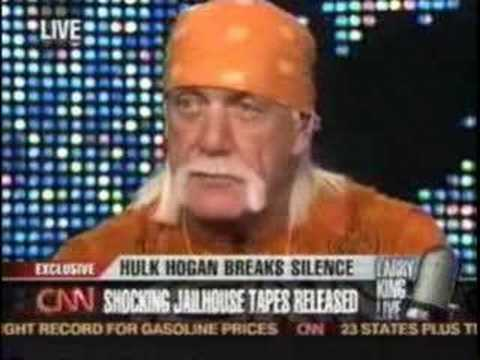 (Larry King) Emotional Hulk Hogan Speaks Out about Son Nick