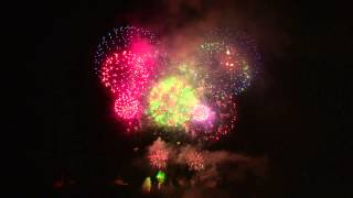 Feuerwerk Staatsfeiertag Liechtenstein 2013