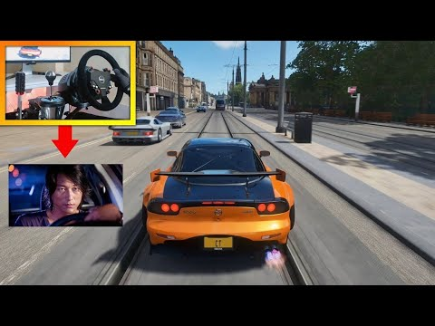 If Han From Tokyo Drift Played Forza Horizon 4 Steering Wheel Pro Pedals Gameplay Youtube