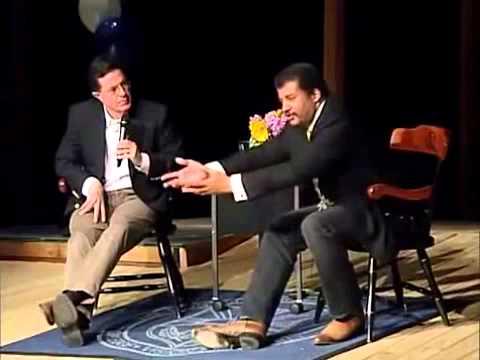 Stephen Colbert interviews Neil deGrasse Tyson - Improved Audio