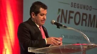 Juan Antonio Esparza Alonso diputado de Ags presento su 2 Informe a través de TESTIGOURBANO