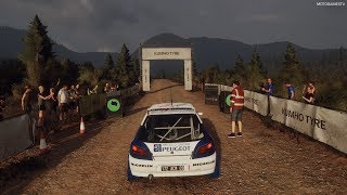 DiRT Rally 2.0 - Peugeot 306 Maxi - Greece Rally Gameplay [4K 60FPS]