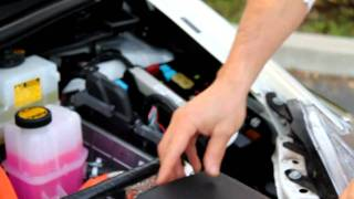 How to Jump a Prius *** Jump a prius with dead battery