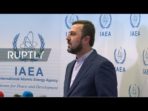 LIVE: Iranian representative Gharib Abadi gives statement following IAEA special meeting