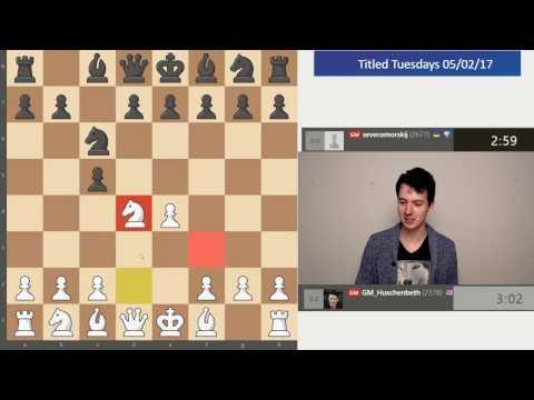 Titled Tuesdays Blitz Tournament 05/02/2017