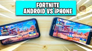 Fortnite ANDROID vs iPHONE 📱 ALLE Unterschiede | Fortnite auf Handy Deutsch German
