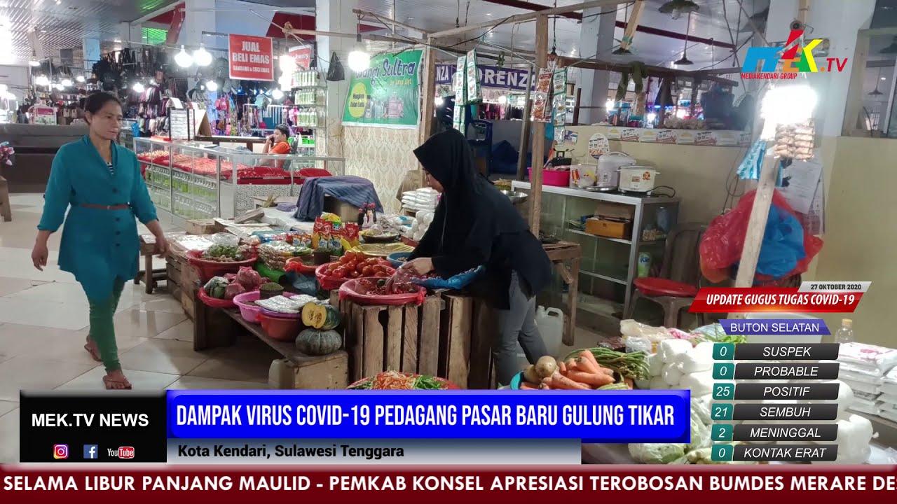 Dampak Virus Covid 19 Pedagang Pasar Baru Gulung Tikar