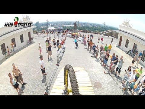 Bratislava City Downhill - Mitch Delfs & Austin Warren