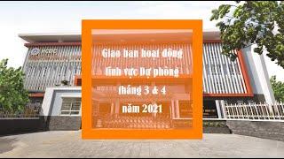 Giao ban tháng 3 - 4 năm 2021 khối Dự phòng - Sở Y tế TP Hồ Chí Minh