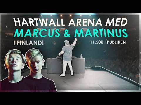 DJ PÅ UTSÅLD ARENA MED MARCUS & MARTINUS *11.500 i PUBLIKEN*