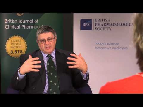 British Journal of Clinical Pharmacology 40th anniversary: An editor's point of view