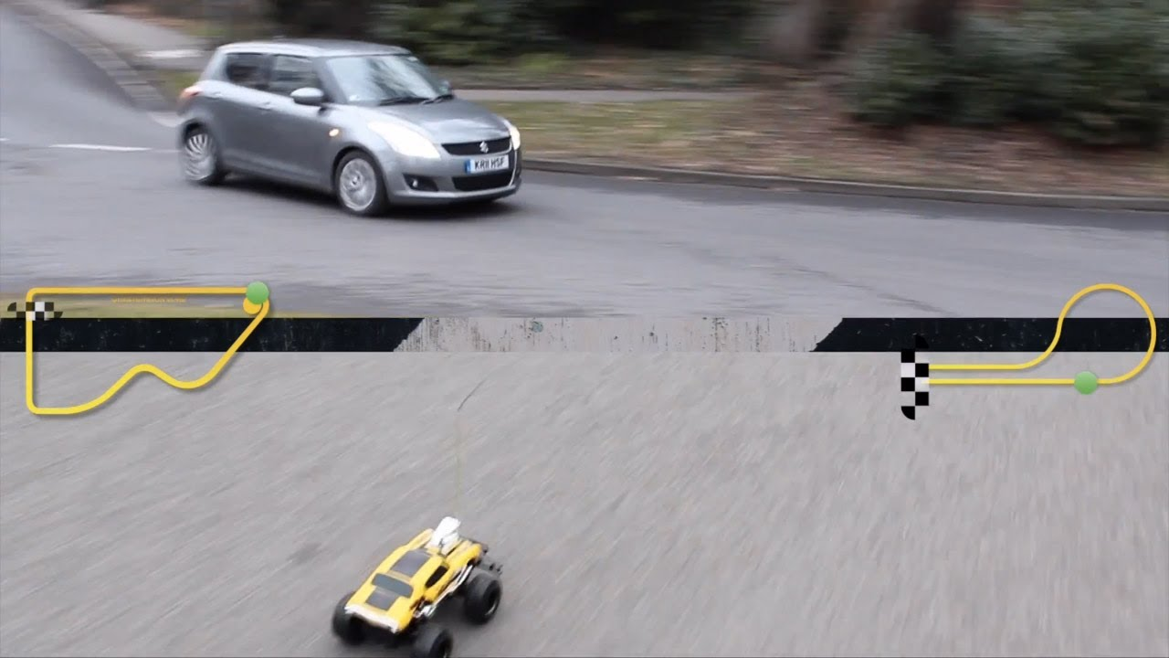 Car Throttle: 2012 Suzuki Swift Vs. R/C Car Review   YouTube