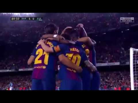 Ter Stegen → André Gomes → Dembélé → Suárez → ⚽