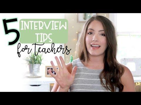 GET THE TEACHING JOB! | 5 Surprising Teacher Interview Tips | Part 1