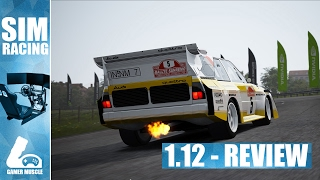 ASSETTO CORSA UPDATE 1.12 - UPDATE REVIEW IMPRESSIONS & GAMEPLAY !