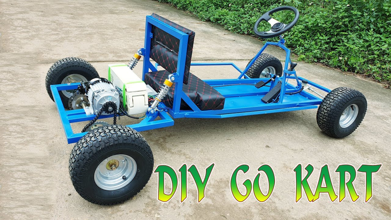 Build A Electric Go Kart At Home V2 Car Tutorial
