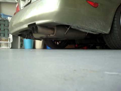Infiniti I30 Exhaust Clip Youtube