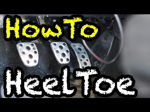 How to HeelToe Downshift  Advanced Manual Techniques  YouTube