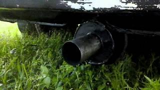 Самодельный прямоток на ВАЗ Классика (звук выхлопа )
