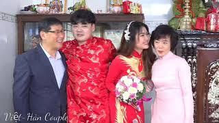 Đám cưới vợ Việt-chồng Hàn. Lễ Thành Hôn tại quê. Đám cưới miền Tây#4 🇻🇳197