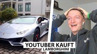 Justin reagiert auf neuen Lamborghini von iCrimax.. | Reaktion