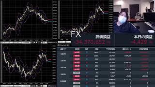 爆損FXライブ(雑談垂れ流し配信)