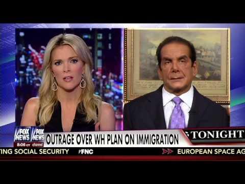 Krauthammer: Obama Exec. Amnesty 'An Impeachable Offense'