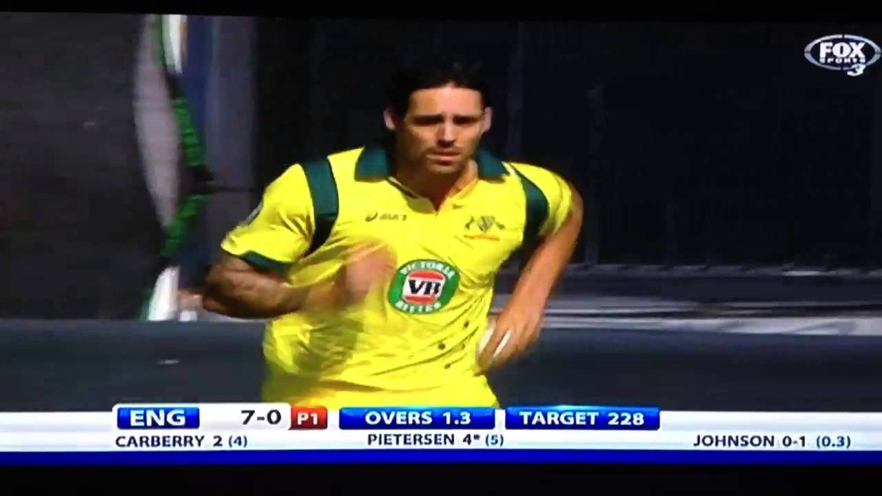Mitchell Johnson 151 9kmh (94 4mph) bowling speeds