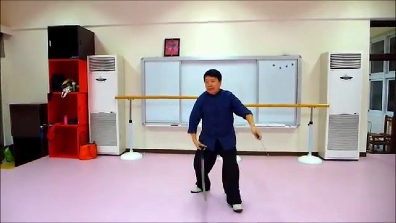龍形八卦雙劍 -黃連順 教學示例 - YouTube