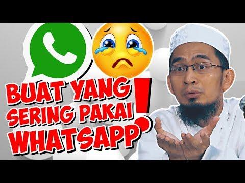 Sering Buka Whatsapp?! Ini Saran Ust. Adi Hidayat - Ustadz Adi Hidayat LC MA