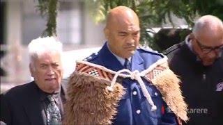 Waipahihi Marae welcomes newly-appointed police area commander