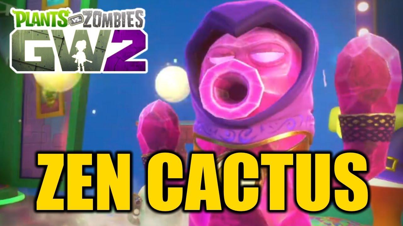 Plants Vs Zombies Garden Warfare 2 New Cactus Variant Zen