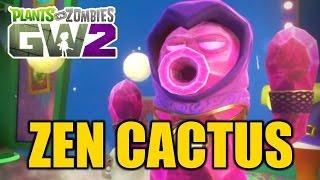 """Plants vs Zombies Garden Warfare 2 - New Cactus Variant! ZEN CACTUS"""""""