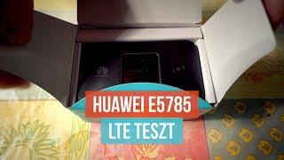Huawei E5785 LTE test - ENGLISH SUBTITLES