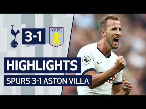 HIGHLIGHTS | SPURS 3-1 ASTON VILLA