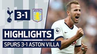 Highlights   Spurs 3-1 Aston Villa